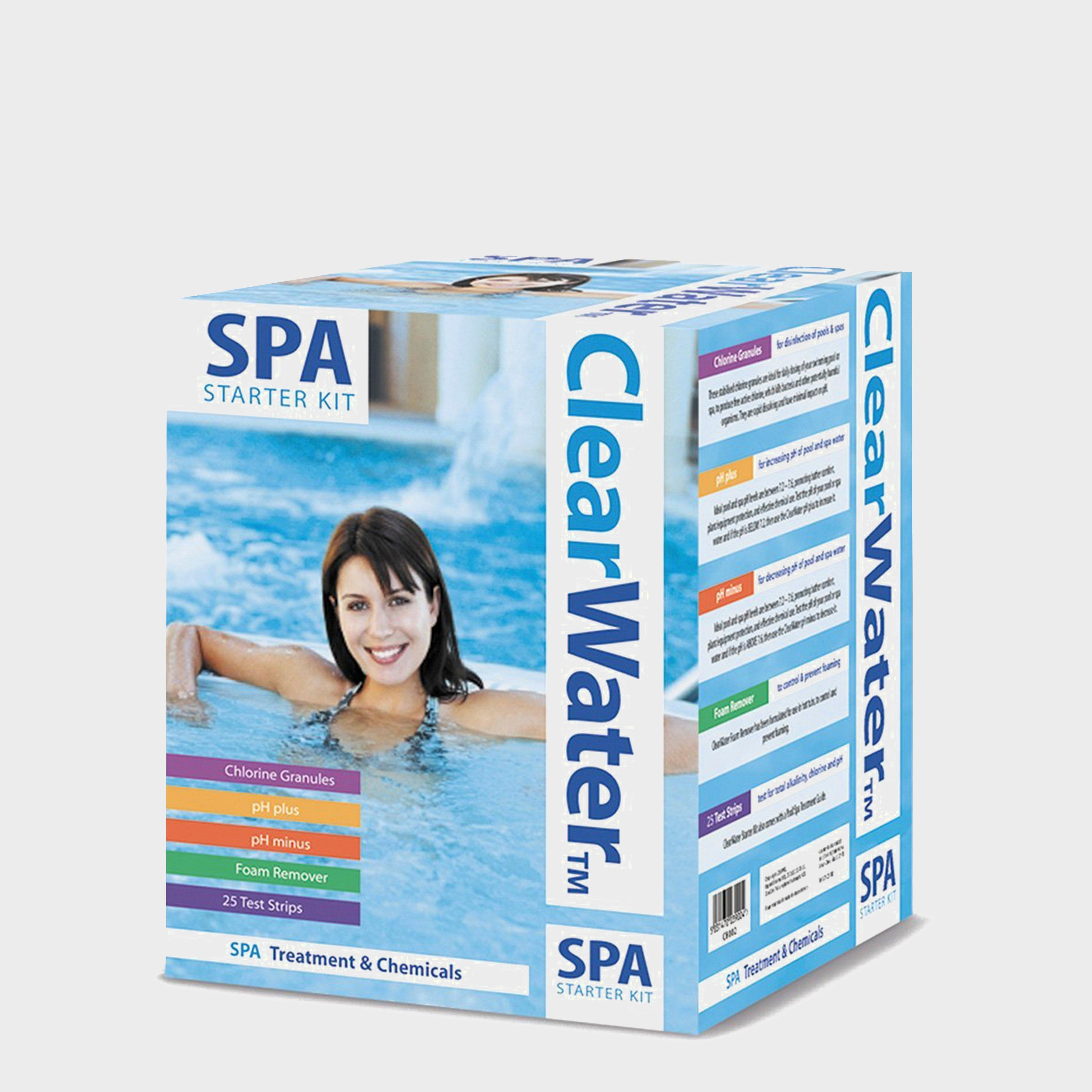 Image of Bestway Clearwater Spa Chemical Starter Kit, Clear