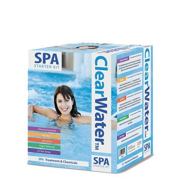 White Lay-Z-Spa Clearwater Spa Chemical Starter Kit