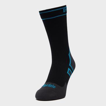 Black Bridgedale Stormsock Midweight Waterproof Boot Socks