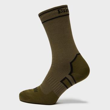 Khaki Bridgedale Stormsock Midweight Sock