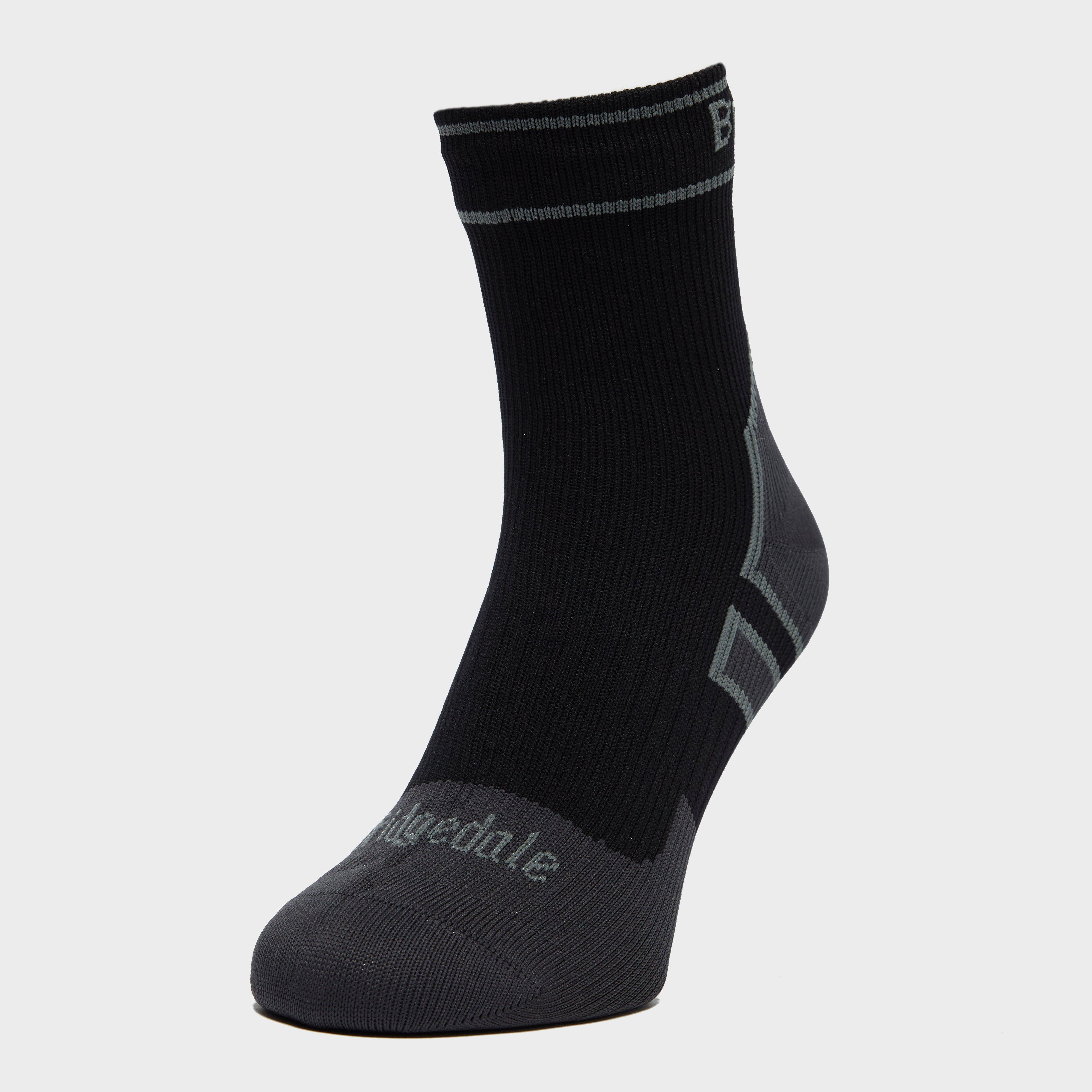 Bridgedale Bridgedale Mens Stormsock Lightweight Ankle Sock - Black, Black