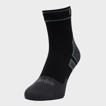 Grey Bridgedale Men's Stormsock Lightweight Ankle Sock