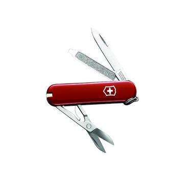 Red Victorinox Classic Swiss Army Knife