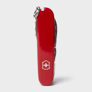 Red Victorinox Huntsman Knife