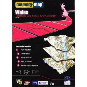 MEMORY MAP OS Landranger Region 3 - Wales