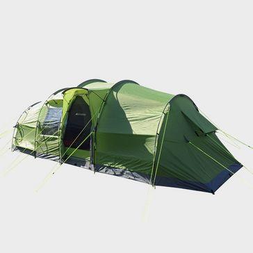 cc25cac66de14a Light Green EUROHIKE Buckingham Elite 6 Family Tent ...