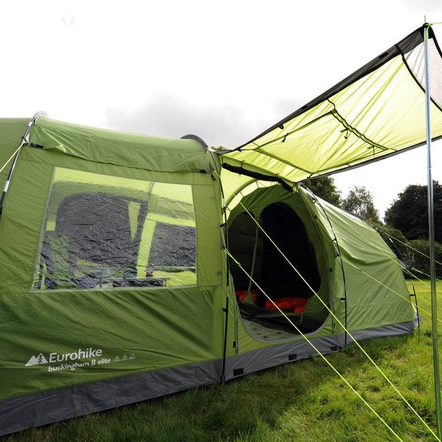 Eurohike Buckingham 8 Classic Black Coded Fibreglass Replacement Long Tent Pole Run