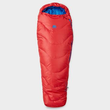 Red Eurohike Juniors' Adventurer Sleeping Bag