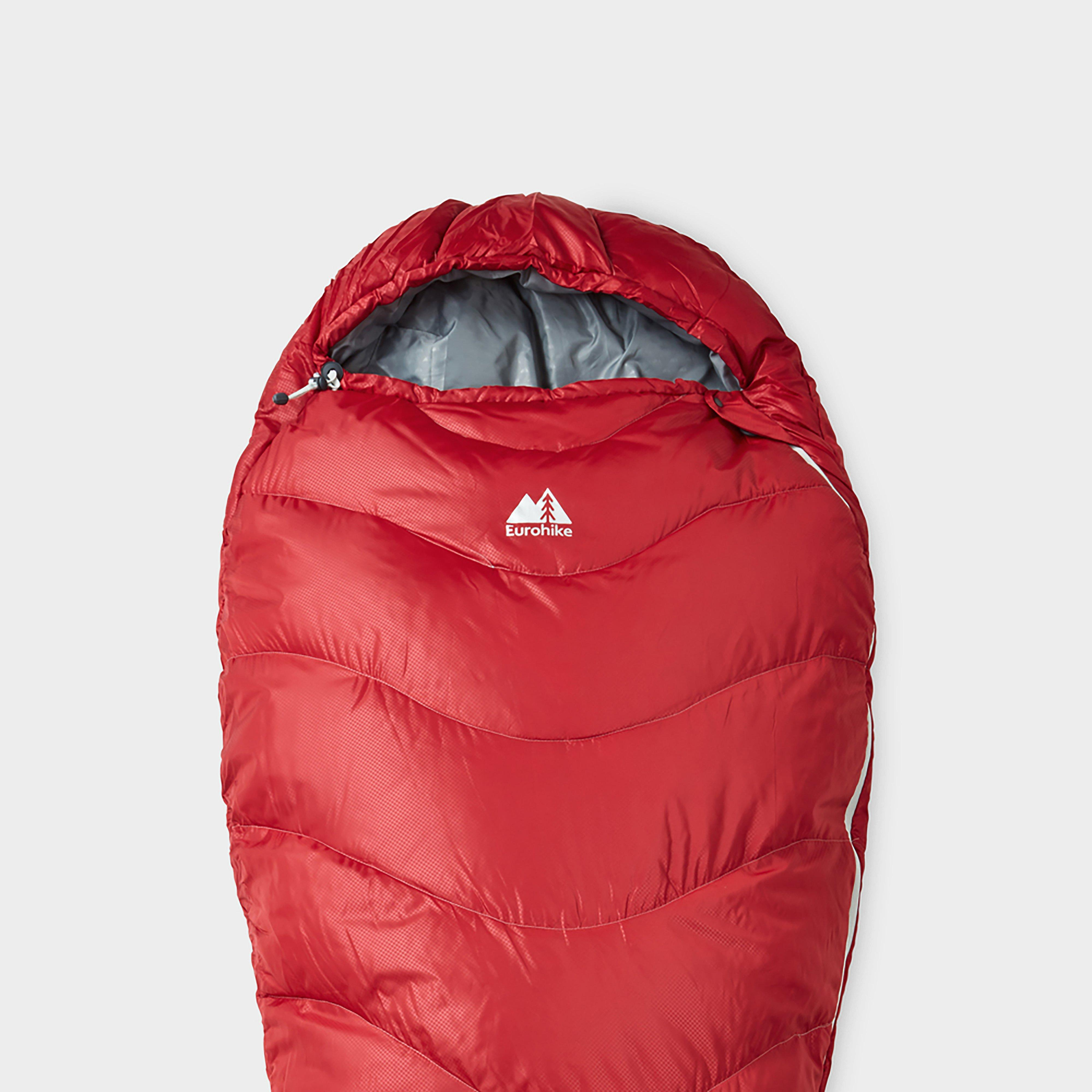 Eurohike Eurohike Adventurer 200 Sleeping Bag - Red, Red