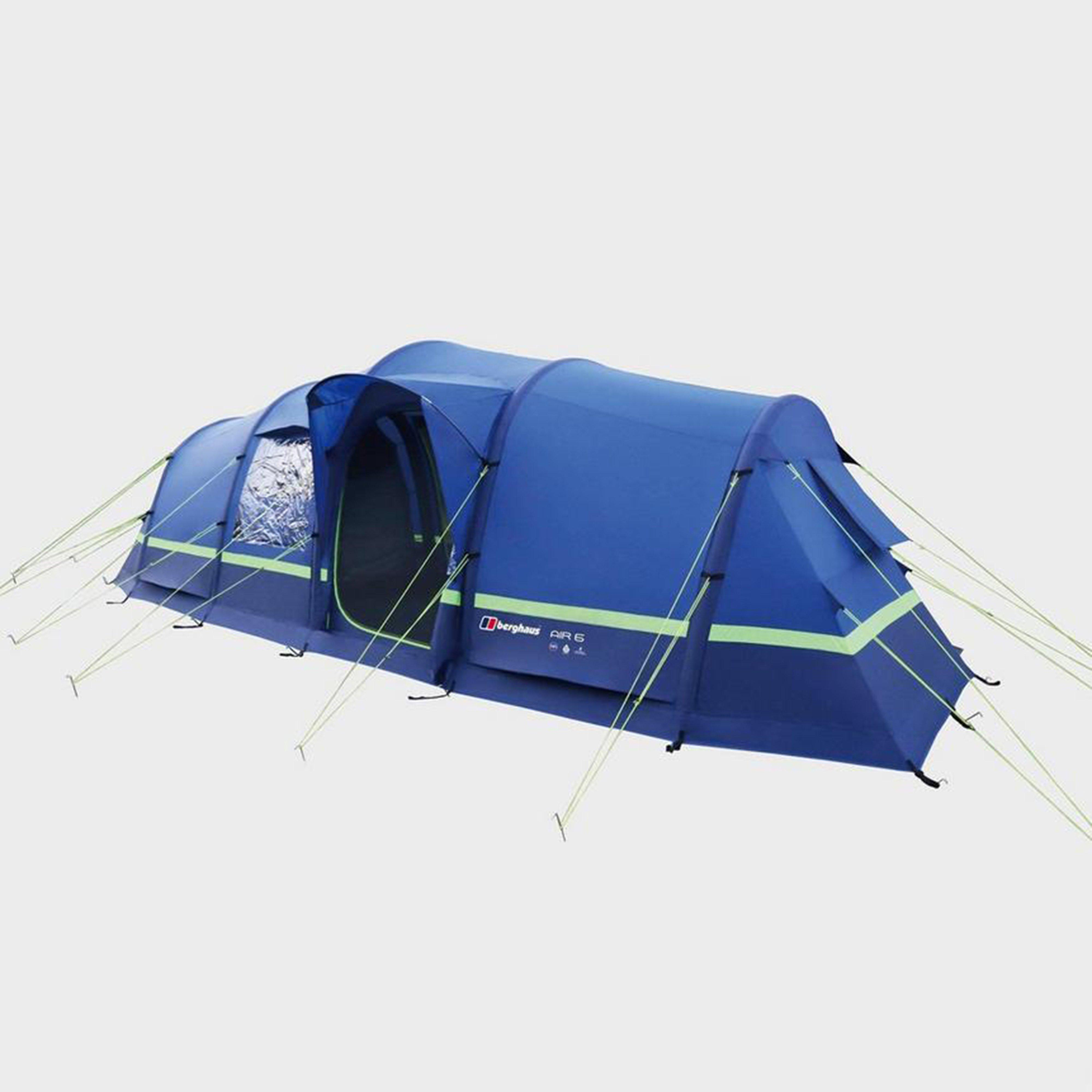 Mid Blue BERGHAUS Air 6 Inflatable Family Tent ... & 6 Man Tent u0026 6 Person Tents   Large Group Tents   Millets