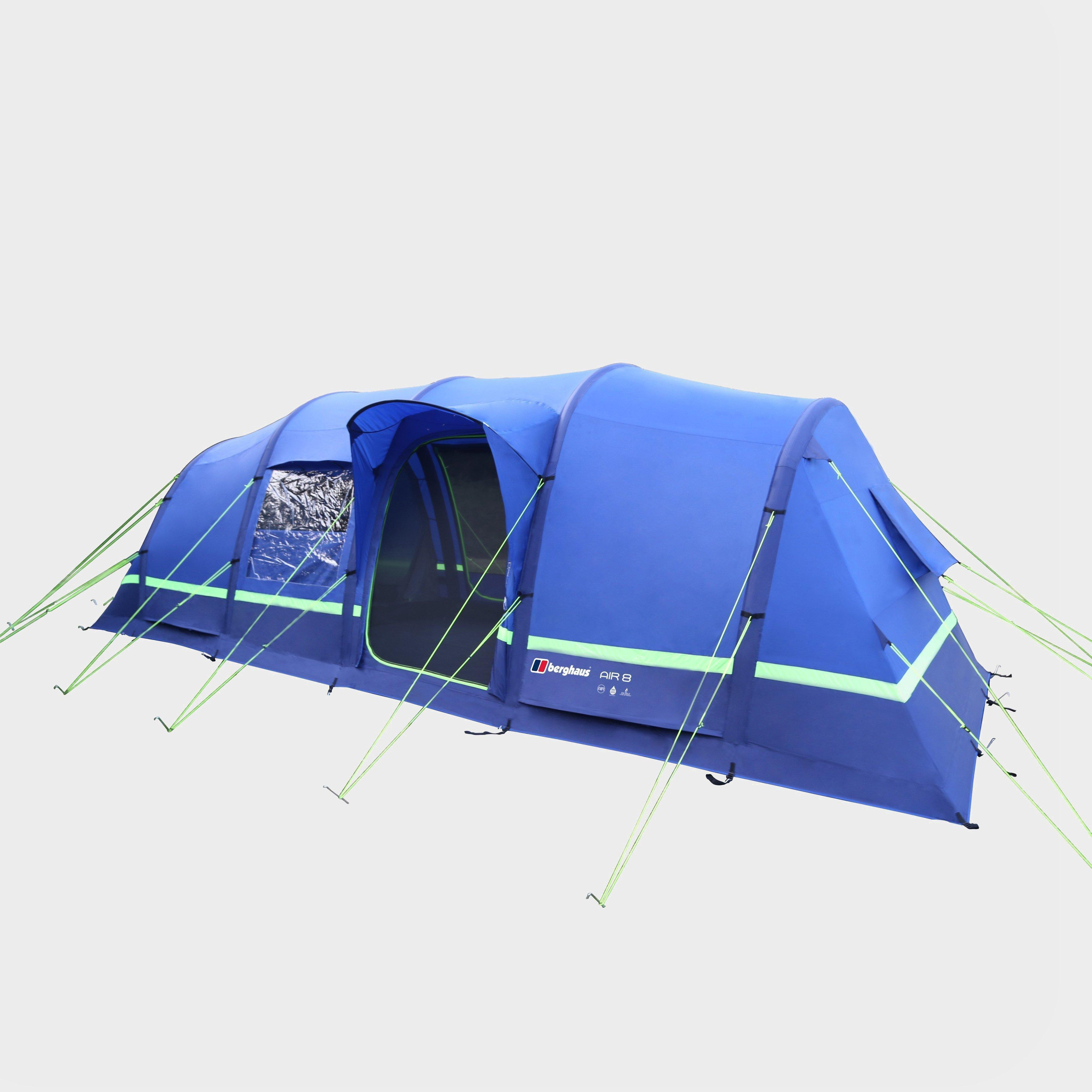 Berghaus Berghaus Air 8 Inflatable Tent - Blue, Blue