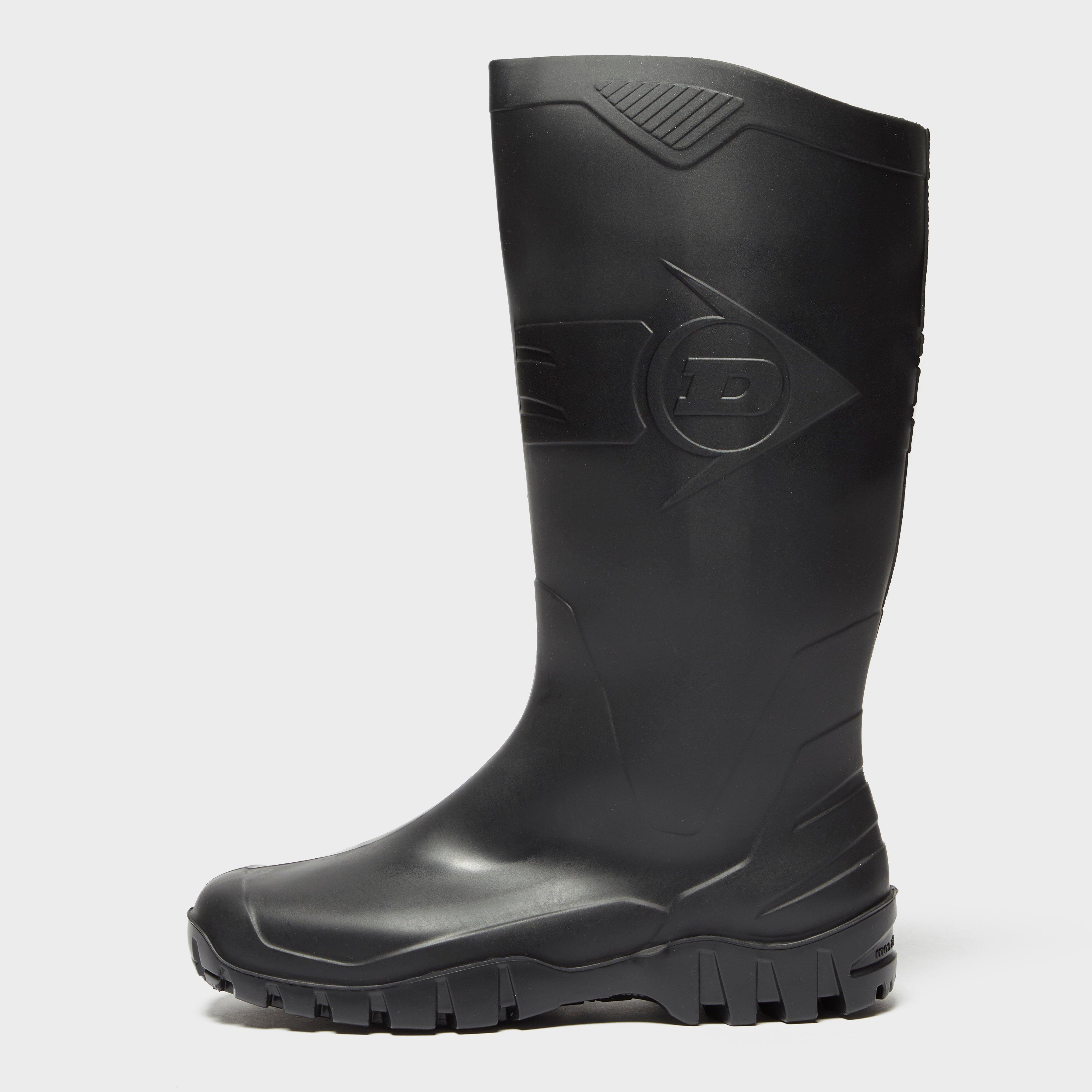 Dunlop Dunlop Mens Dane Wellies - Black, Black