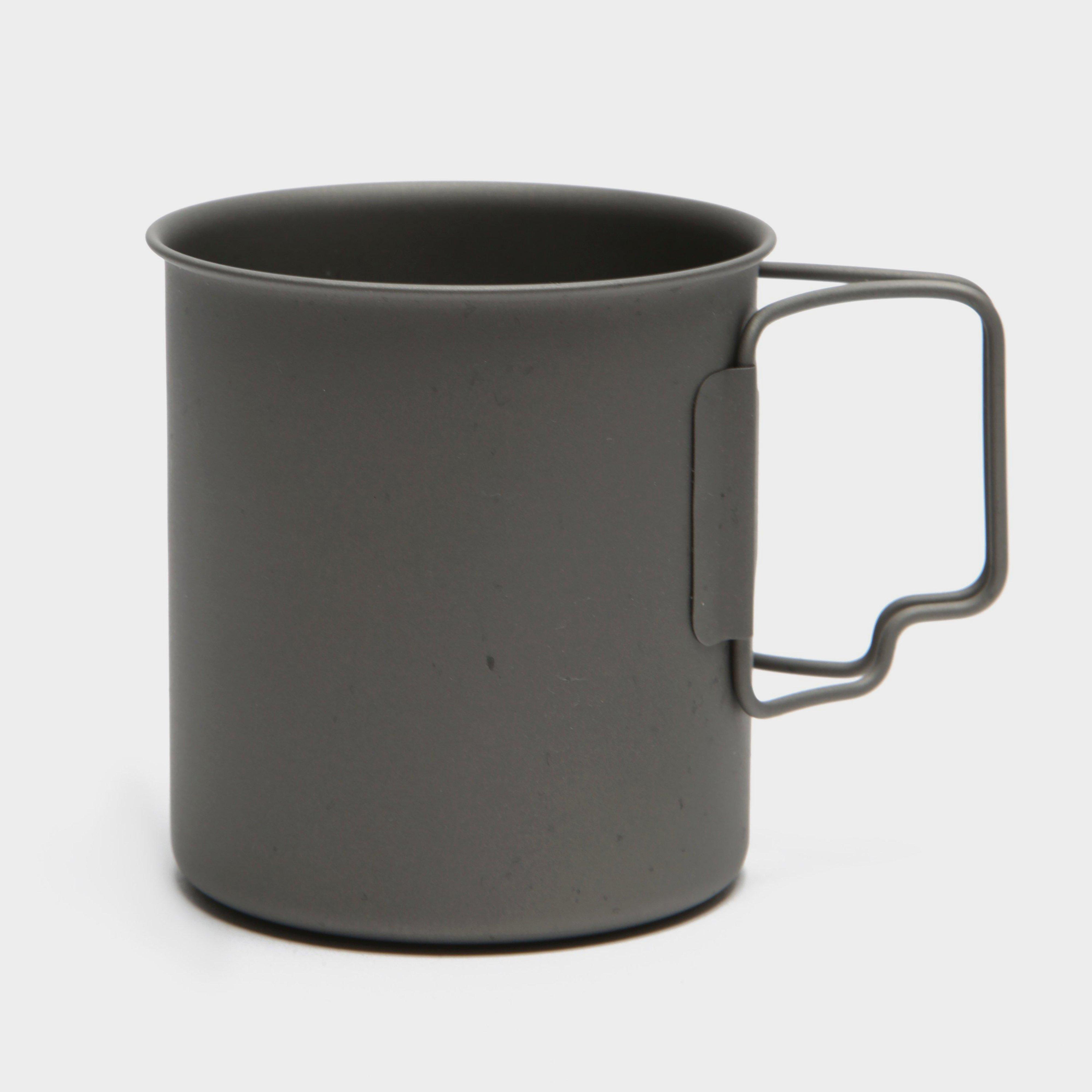 Lifeventure Lifeventure Titanium Mug - Black, Black