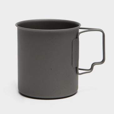Black LIFEVENTURE Titanium Mug