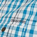 Blue CRAGHOPPERS Men's Otley Short Sleeve Shirt image 3