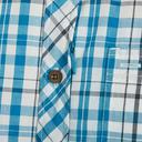 Blue CRAGHOPPERS Men's Otley Short Sleeve Shirt image 5