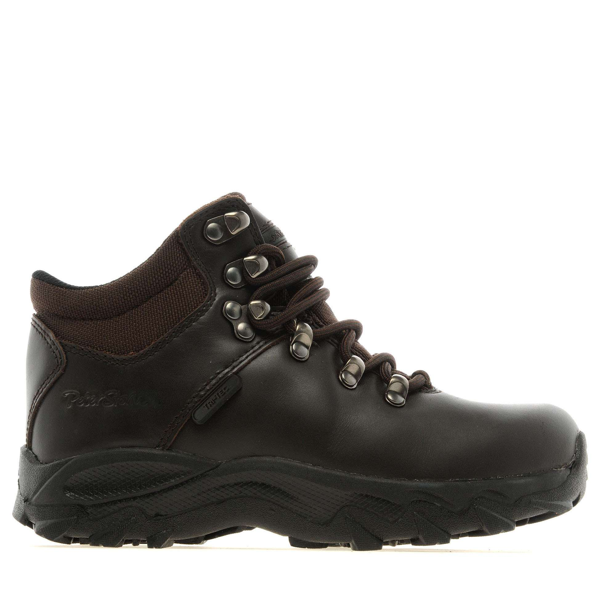 PETER STORM Children's Chiltern Waterproof Leather Walking Boots