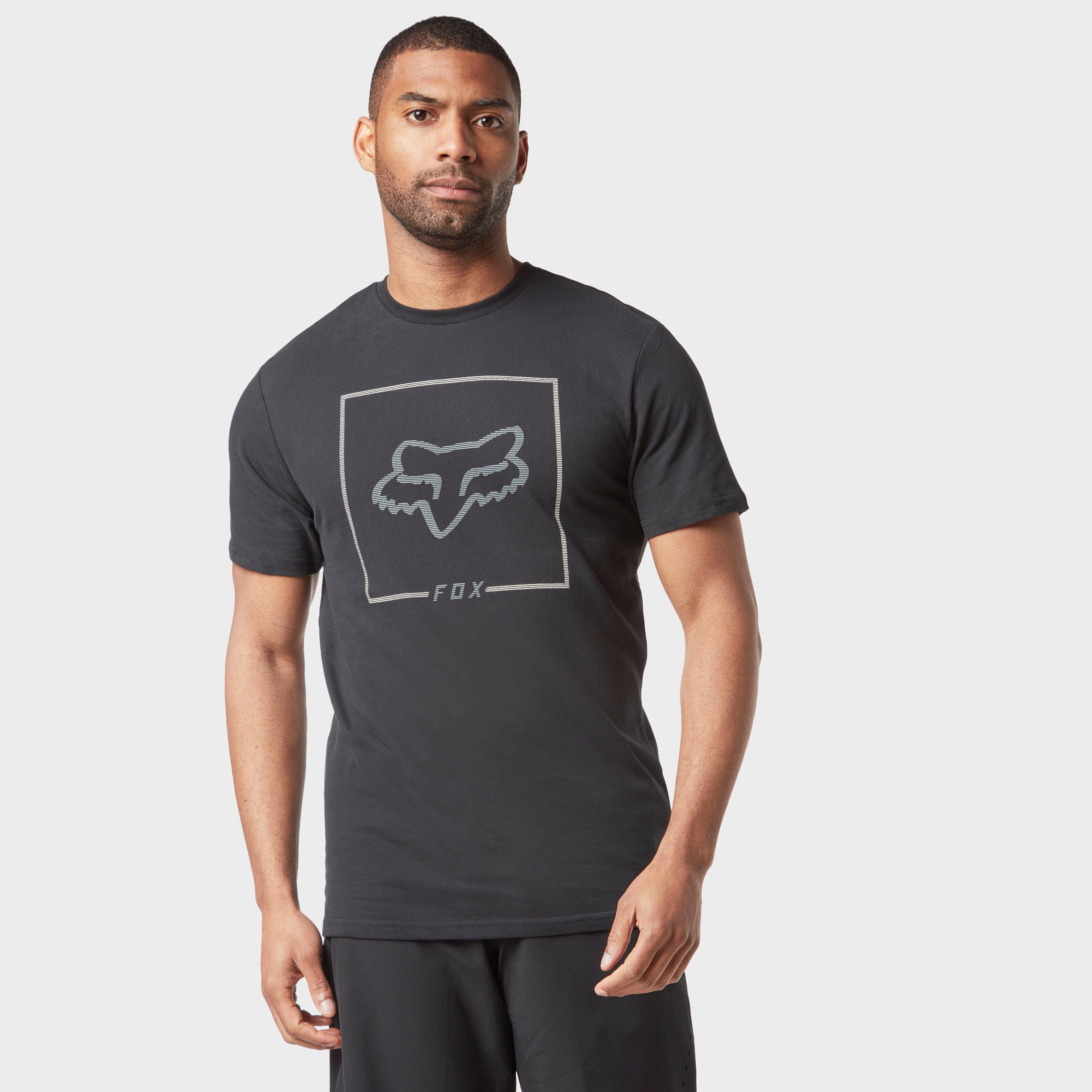 FOX Fox Mens Airline Chapped T-shirt - Black, Black