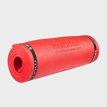 Red Multimat Comfort XL Sleeping Mat