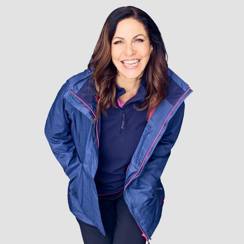 Peter Storm Women's Glide Marl Waterproof Jacket
