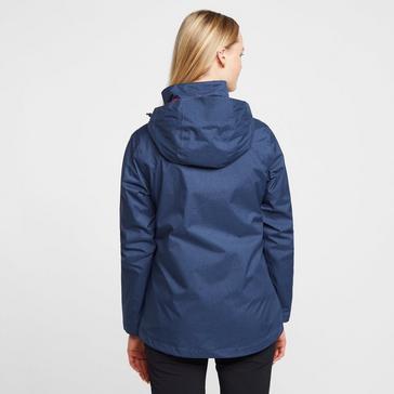 Blue Peter Storm Women's Glide Marl Waterproof Jacket