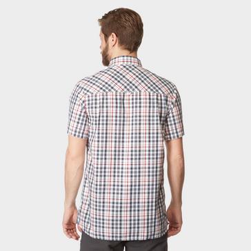 Blue Craghoppers Men's Otley Short Sleeve Shirt