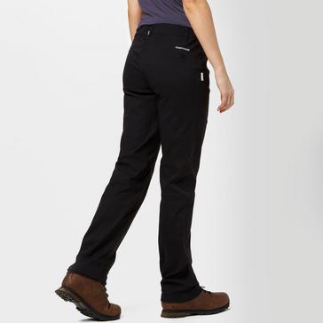Black Craghoppers Women's Kiwi Pro Stretch Trousers
