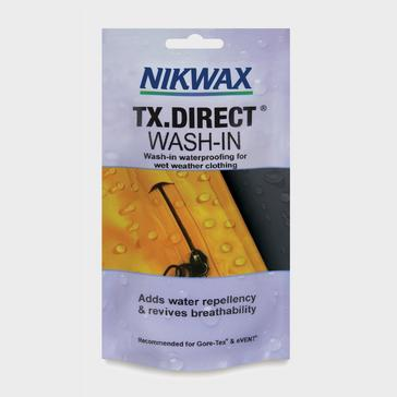 White Nikwax TX. Direct® Wash-In Pouch