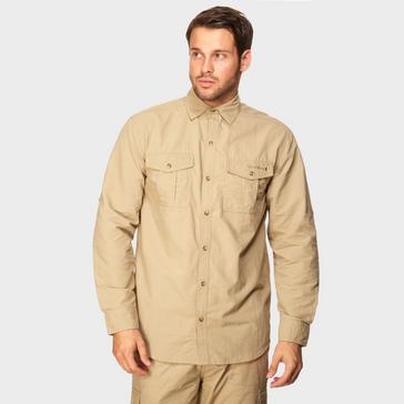 Beige Peter Storm Men's Travel Shirt