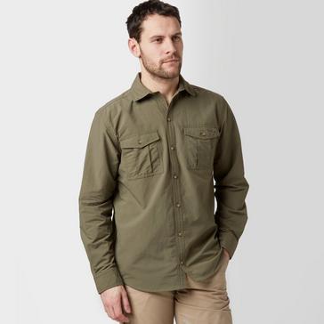 Green Peter Storm Men's Travel Shirt