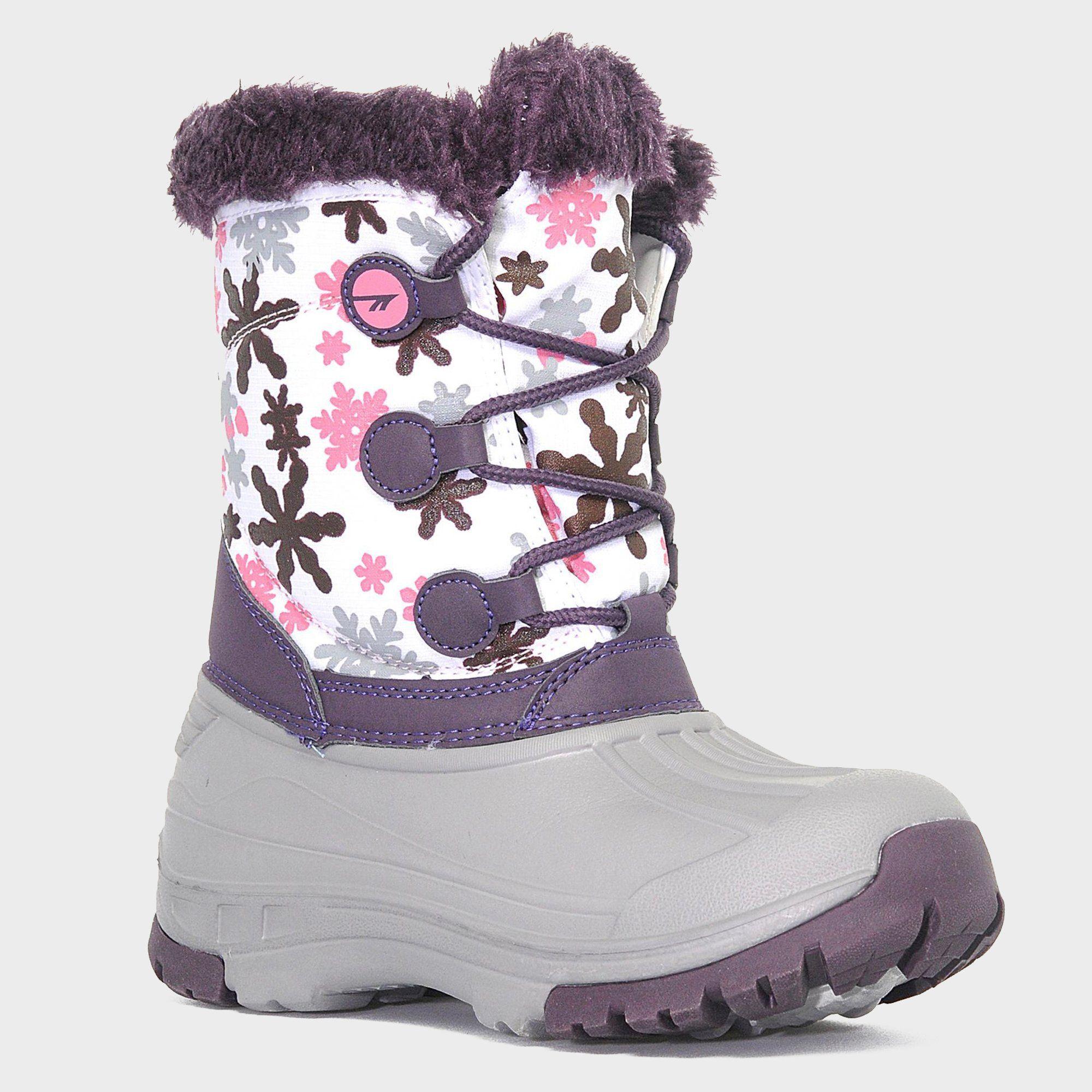 HI TEC Girls' Cornice Snow Boots