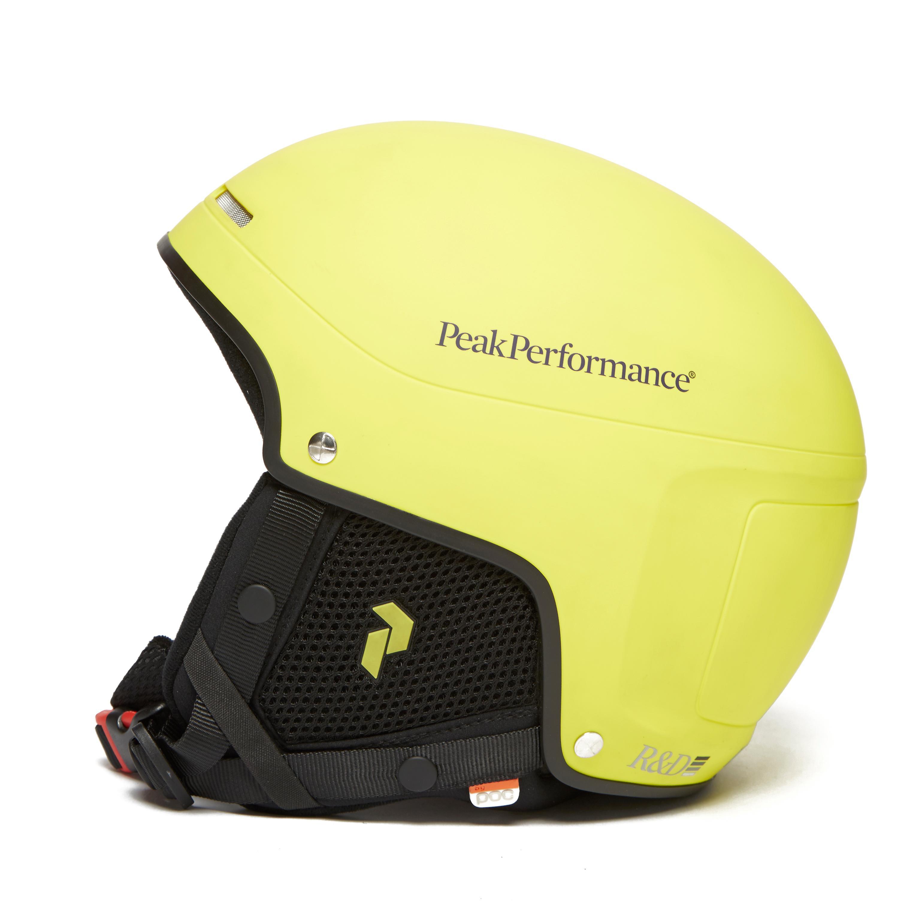 Peak Perf Skull Lite Helmet Yellow