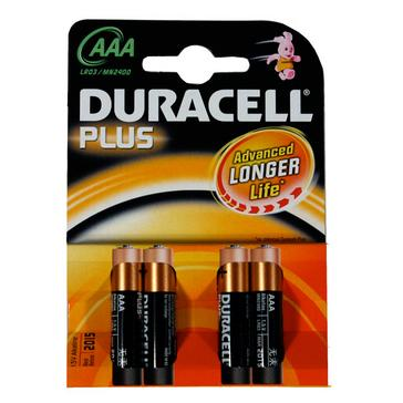 N/A Duracell Plus Power AAA Batteries - 4 Pack