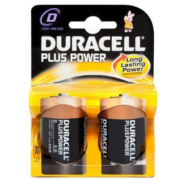 N/A Duracell Plus Power D2 Batteries 2 Pack