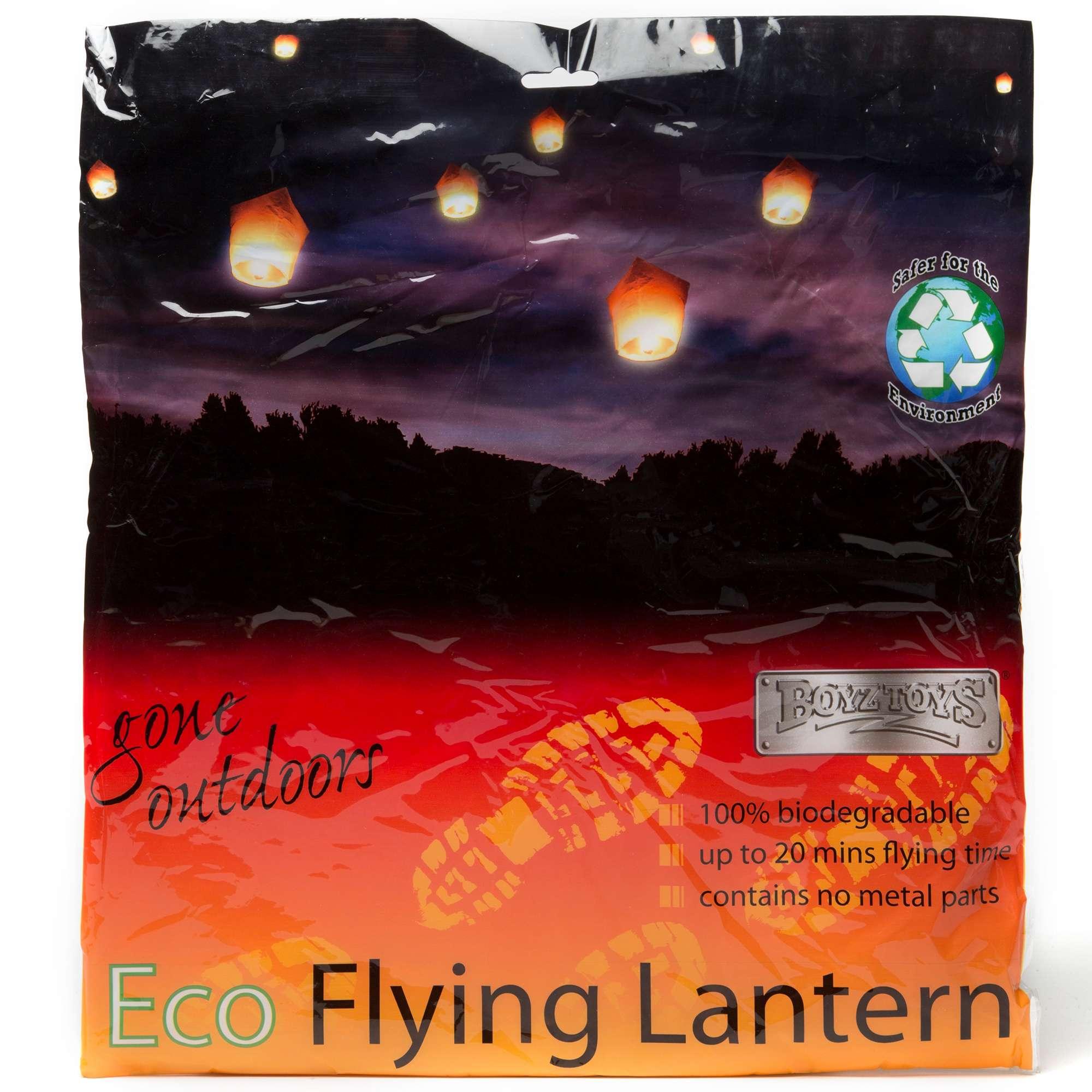 BOYZ TOYS Eco Flying Lantern