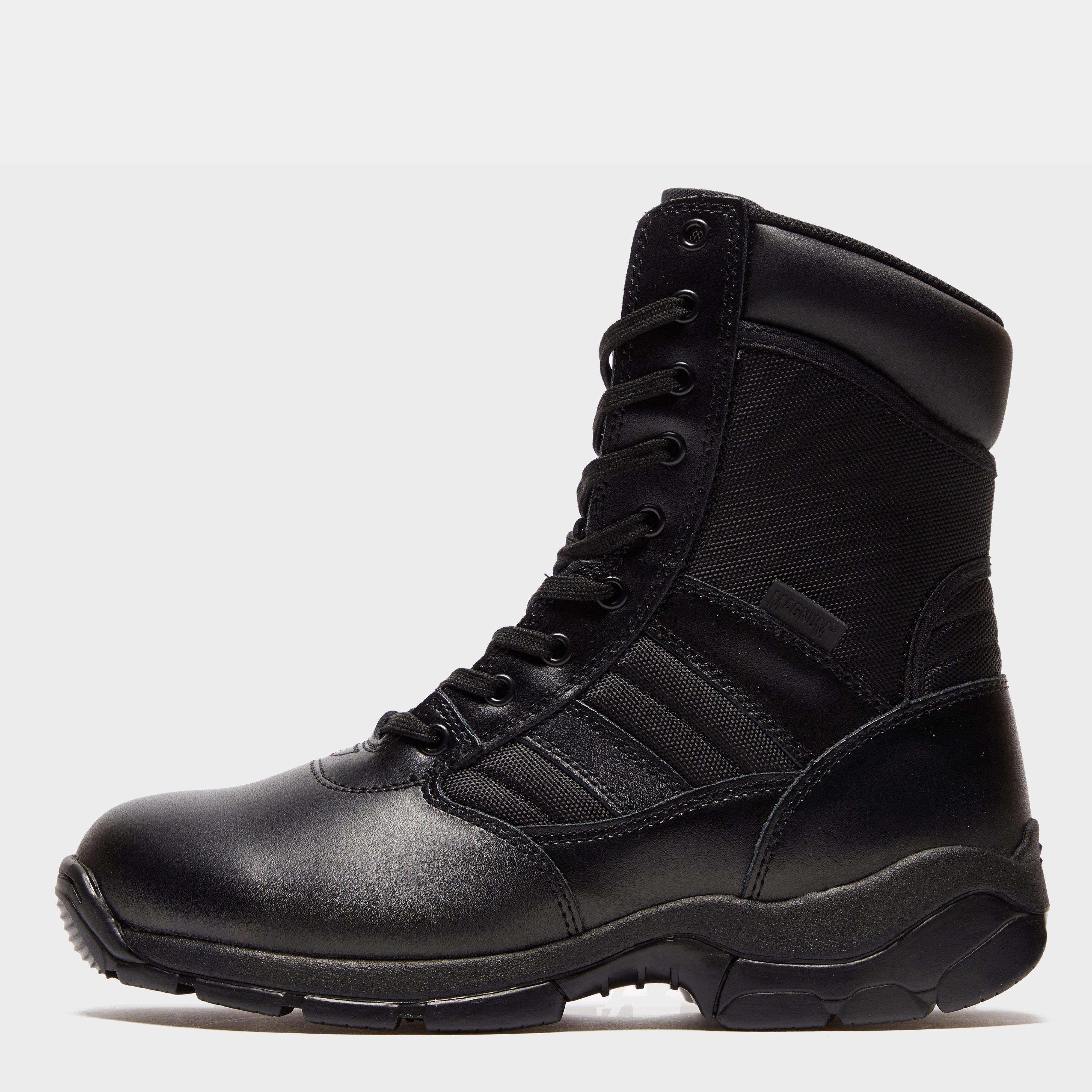 magnum Magnum Mens Panther Side Zip Industrial Work Boots - Black, Black