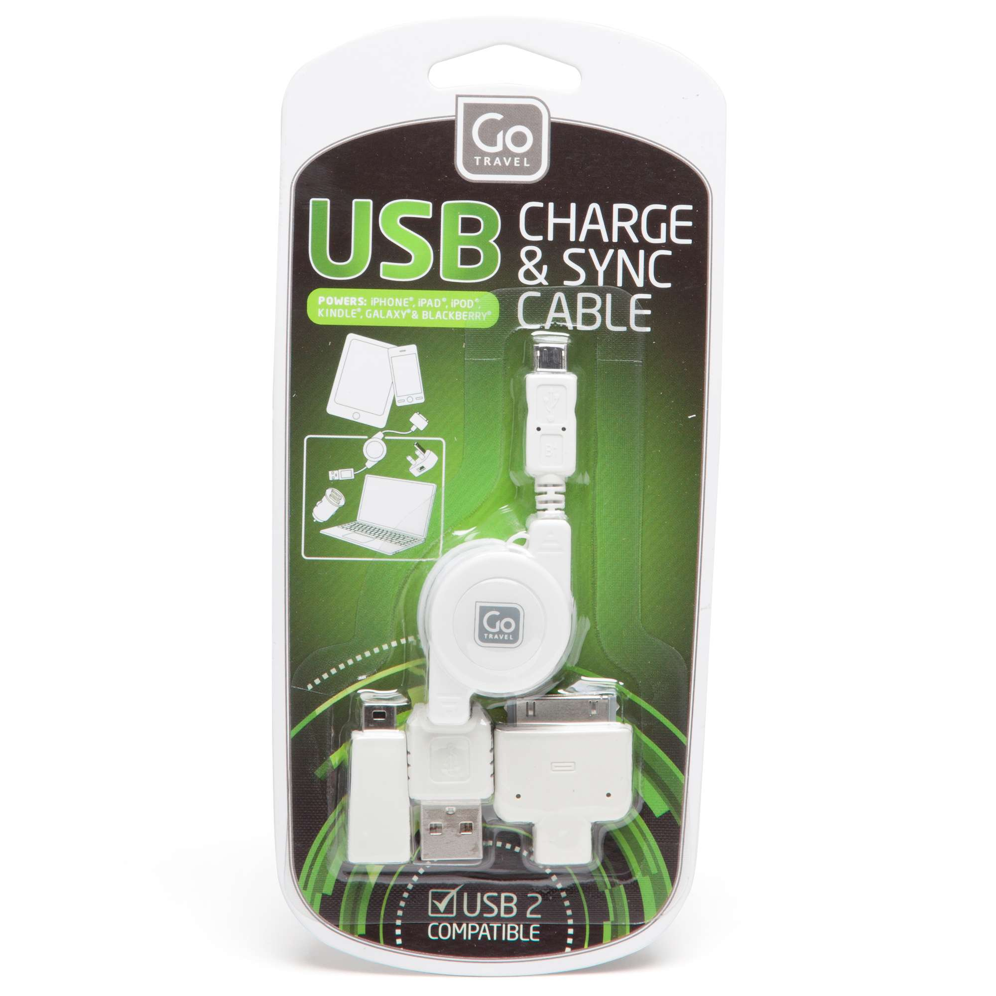 DESIGN GO USB Charging Cable Set
