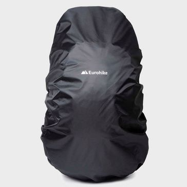 Black EUROHIKE Water Repellent Rucksack Cover 55-75L 57d069b22fce7