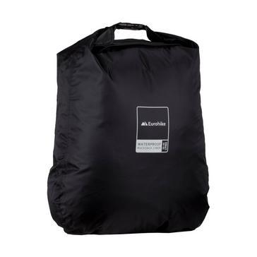 Black Eurohike Waterproof Rucksack Liner 25-45L
