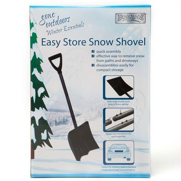 Black Boyz Toys Easy Store Snow Shovel
