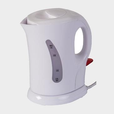 White Quest 1L Low Wattage Cordless Kettle