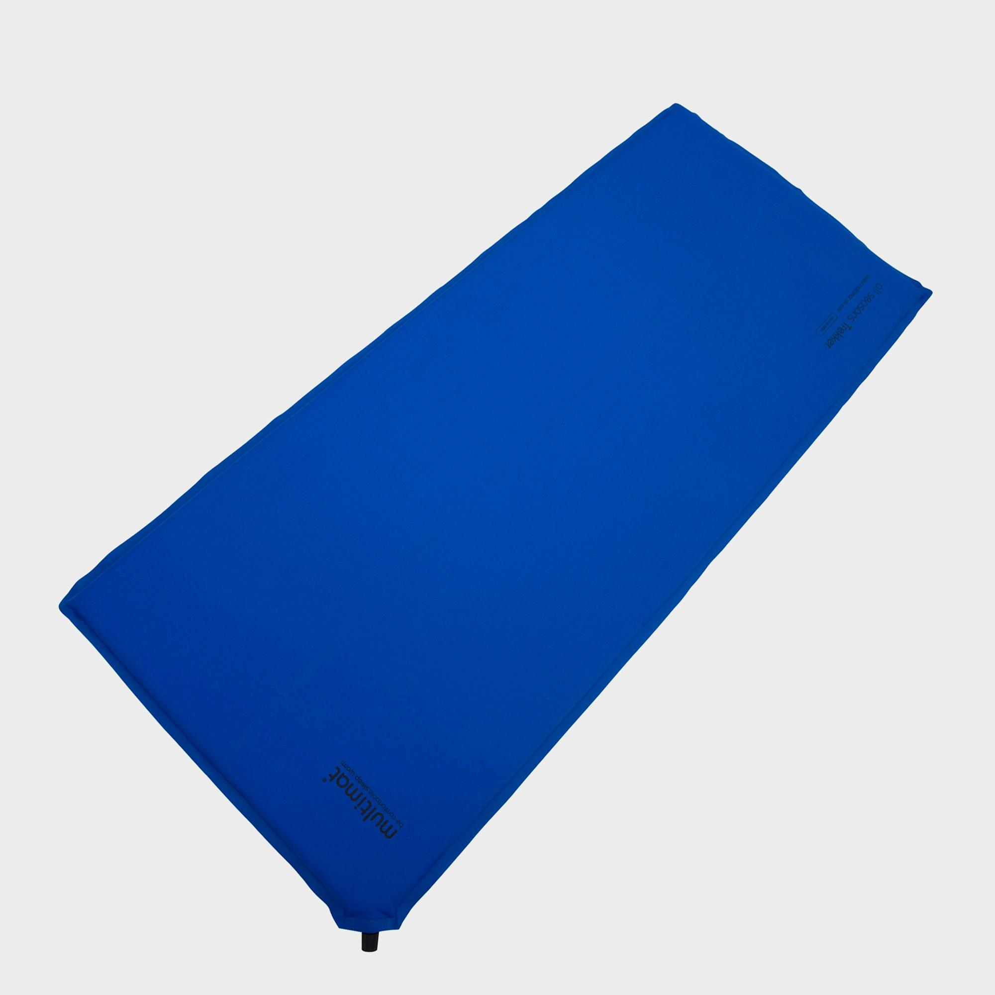 Multimat Trekker Compact 25 Self Inflating Sleeping Mat (Small), Blue