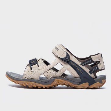 40935090e Beige MERRELL Men s Kahuna III Sandals ...