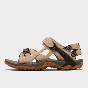 Beige Merrell Women's Kahuna III Sandals