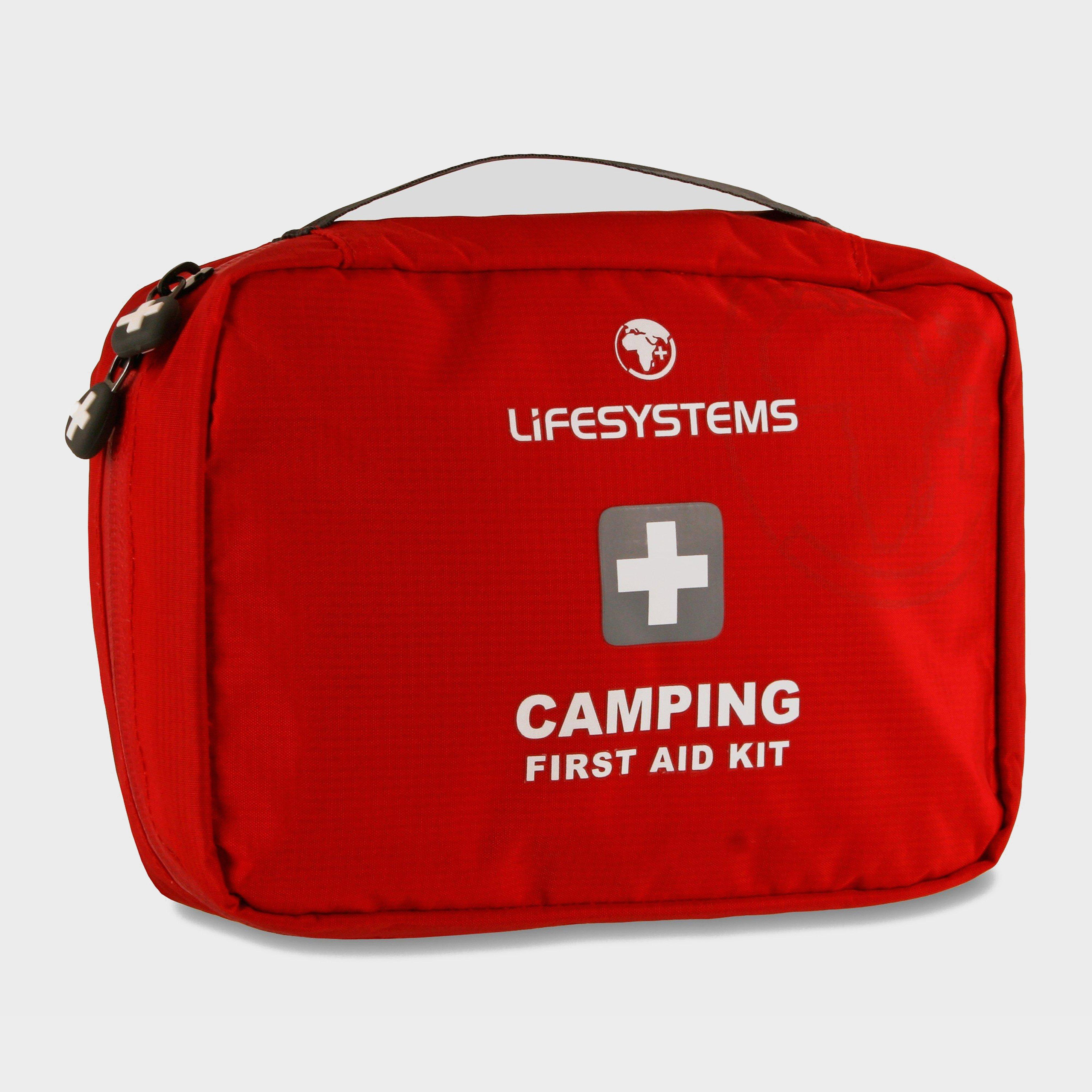 Lifesystems Camping First Aid Kit  DofE Red
