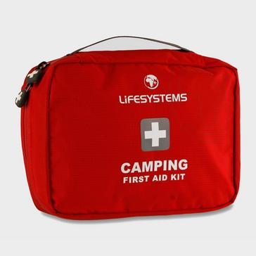 Red Lifesystems Camping First Aid Kit