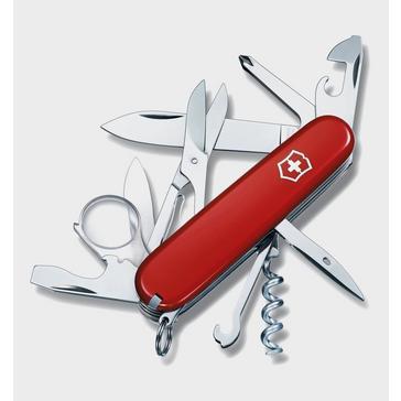 Red Victorinox Explorer Pocket Knife
