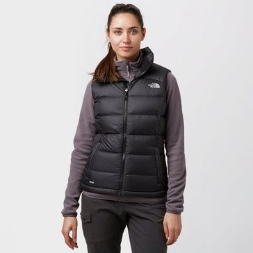 Black THE NORTH FACE Women s Nuptse II Insulated Gilet ... a5fb59005