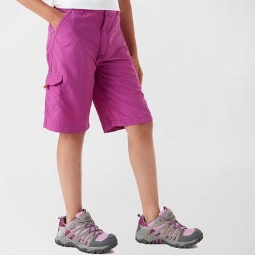 Purple Regatta Regatta Girl's Sorcer Shorts