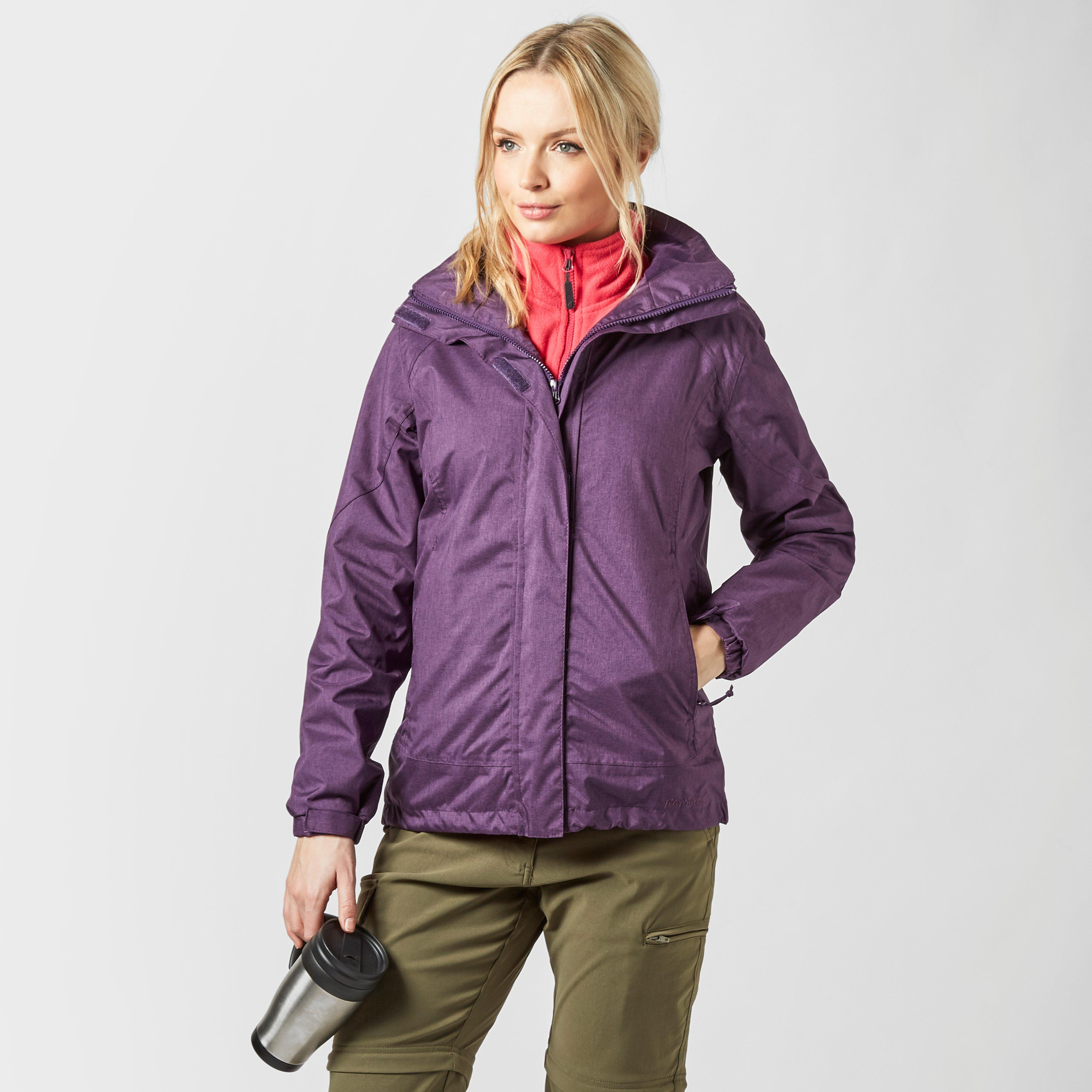 Peter Storm Peter Storm womens Glide Waterproof Jacket - Purple, Purple